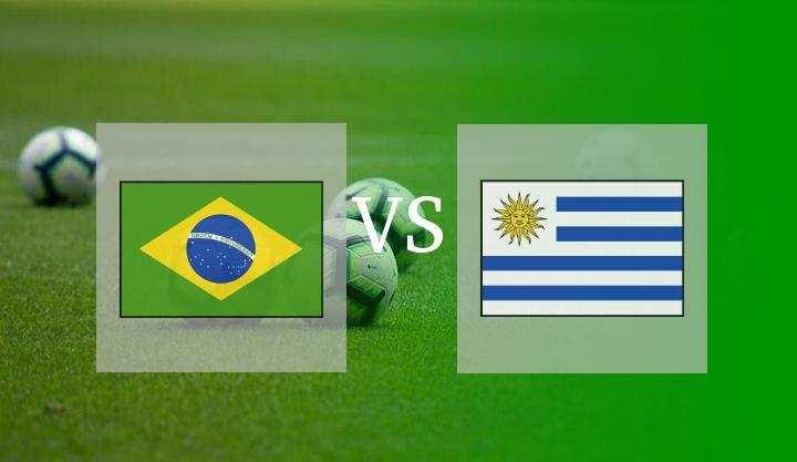 Hasil Brasil vs Uruguay