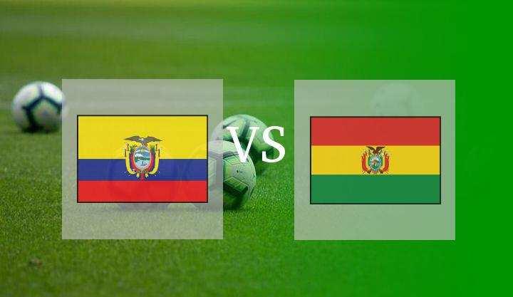 Hasil Ekuador vs Bolivia