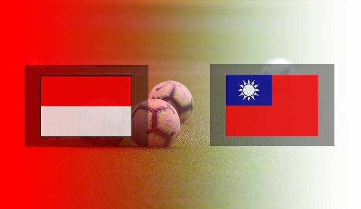 Hasil Indonesia vs Taiwan