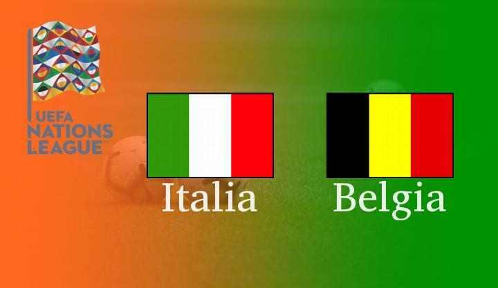 Italia vs Belgia 3rd UNL 2020 : Live Streaming, Prediksi Line Up, Head to Head