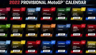 Kalender MotoGP 2022 Lengkap 21 Seri, Ada Indonesia